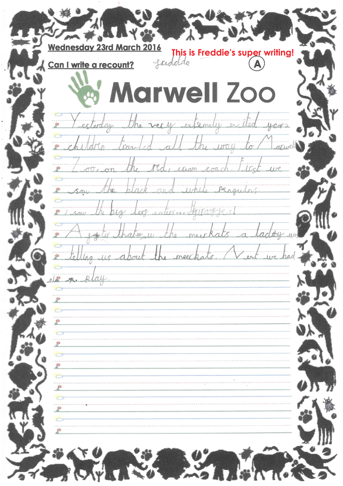 Freddie's Marwell Recount