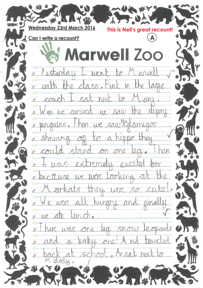 Nell's Marwell Recount