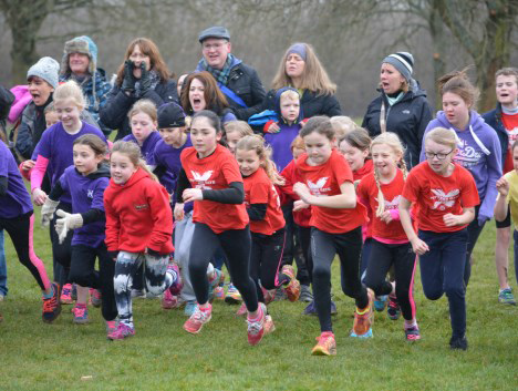 Cross Country girls race March 2016