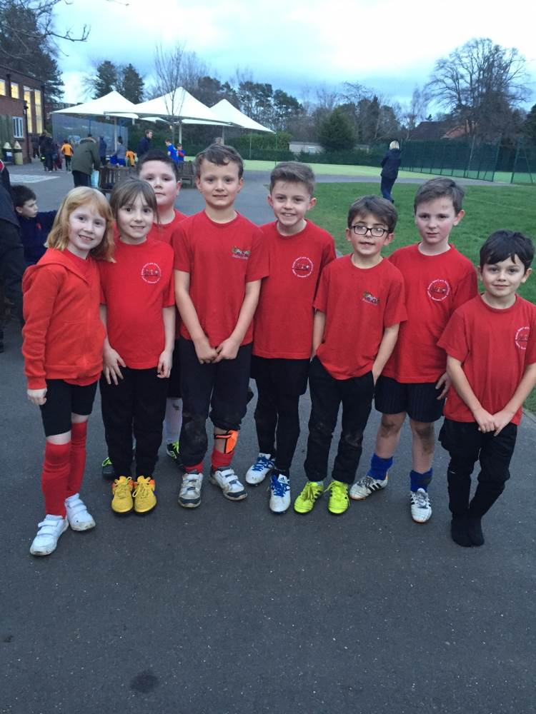 Year 3 Football Festival team