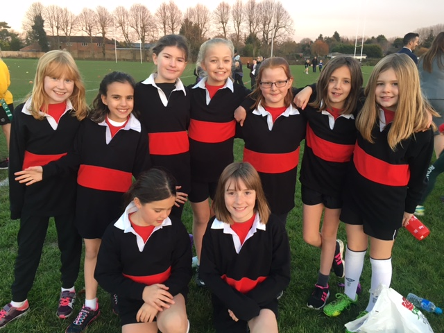 Year 5 Girls Tag Rugby